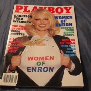 Unopened playboy magazine August 2002